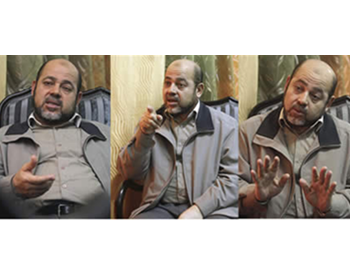 Musa Abu Marzouk during the interview (Jewish Daily Forward website)