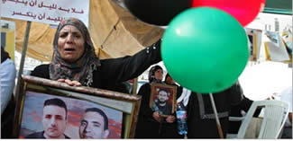 Gazans express their joy over the end of the Palestinian terrorists' hunger strike