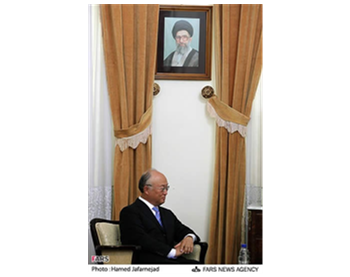 IAEA Director General Yukiya Amano visits Tehran
