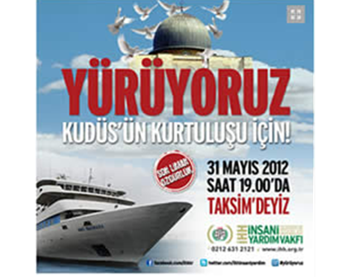 Announcement for the events marking the anniversary of the Mavi Marmara (IHH website, May 28, 2012).