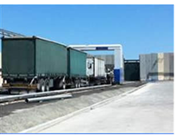 Trucks enter the Gaza Strip through the Kerem Shalom crossing (Coordinator for government activities in the territories , July 5, 2012)