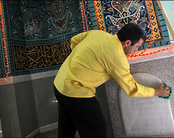 Mosques cleaned up ahead of month of Ramadan