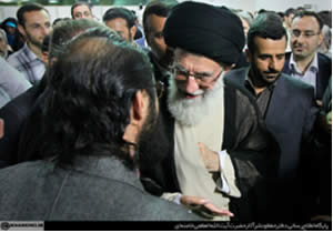 Supreme Leader's meeting with poets