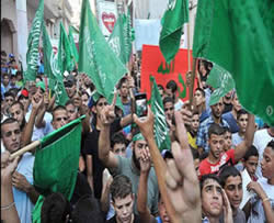 Hamas Demonstration im Flüchtlingslager Shuafat (Falistin Info, 18. September 2012)