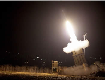 Iron Dome aerial defense system (Photo by Edi Israel, courtesy of NRG, November 14, 2012).