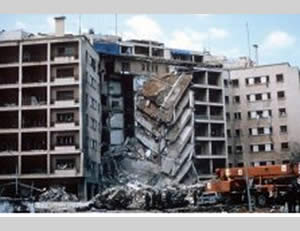 1983: Hezbollah blows up the American embassy in Lebanon