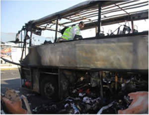 2012: Hezbollah blows up an Israeli tourist bus in Bulgaria
