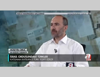 Hüseyin Oruç interviewed by the Islamist Kanal A TV.