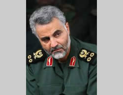 General Qassem Suleimani, Qods Force commander (Al-Quds website, November 12, 2011)