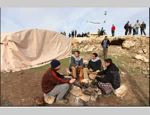 The Palestinian outpost (Palinfo website, January 13, 2013)