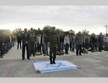 Education for hatred of Israel at Hamas winter camps.
