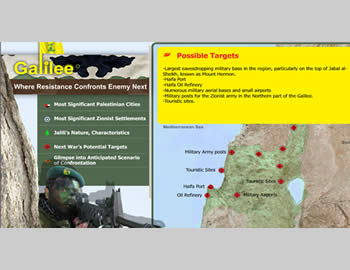 Hezbollah sends Iranian messages of deterrence to Israel and boasts of its military capabilities