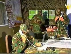 A Hezbollah sectorial operations room (Al-Manar website, December 25, 2012)
