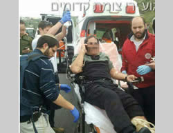 Victim of the shooting attack at the Qadoumim junction