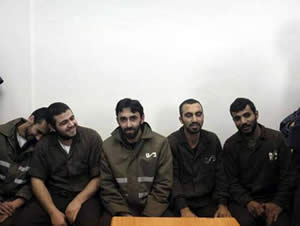 Operatives of the squad in east Jerusalem that planned to abduct and murder Israelis (Shihab website, April 18, 2013).