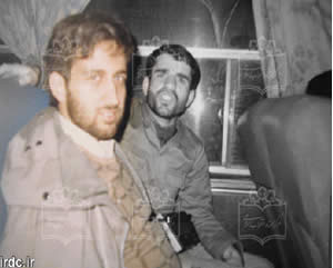 Jalili during the Iran-Iraq War