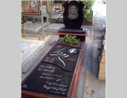 The grave of Raed Muhram Turk, an IIRG officer killed in Damascus during a firefight with the rebels.