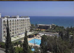 The Golden Arches hotel in Limassol, one of the sites about which the Hezbollah operative gathered information
