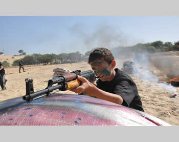 Firing with live ammunition (Sarayanews website, June 12, 2013)
