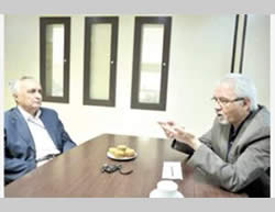 Ghaninejad and Behkish in an interview to Tejarat-e Farda