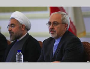 President Rowhani and Foreign Minister Zarif