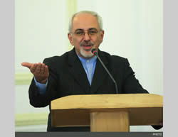 Minister of Foreign Affairs Mohammad Javad Zarif