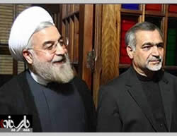 Brothers Hassan Rowhani and Hossein Fereydoun