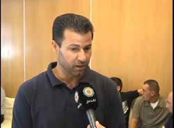 Abdallah Abu Rahma, a prominent popular resistance activist, interviewed in Bethlehem  (Al-Quds TV, August 31, 2013).