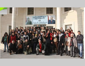 The Italian delegation received by the governor of Hebron (Website of the governor of Hebron, January 2, 2014).