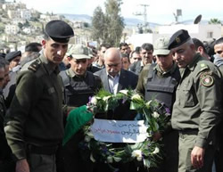 Flowers from Mahmoud Abbas for Palestinian terrorist operatives