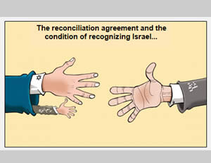 Criticism in a Hamas newspaper of the recognition of Israel, a PA package deal for the reconciliation agreement (Felesteen, May 2, 2014)