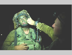 Preparing for the ground operation (IDF Spokesman, July 18, 2014).