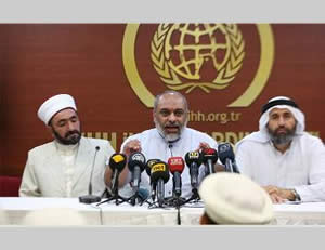 The IHH press conference (IHH.org.tr, July 21, 2014)