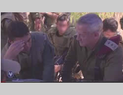 The IDF Chief of Staff visits the forces on the ground in the Gaza Strip (IDF Spokesman, July 27, 2014).
