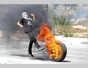 Violent confrontations between Palestinians and the Israeli security forces (Wafa.ps, August 1, 2014).