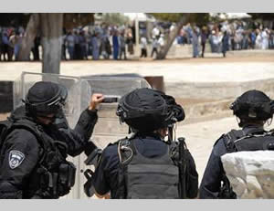 Confrontations between Palestinians and the Israeli security forces on the Temple Mount (Israel Police Force Spokesman, August 4, 2014).