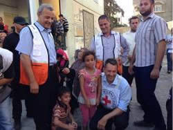 The president of the International Red Cross visits the Gaza Strip (Icrc.org, August 5, 2014)