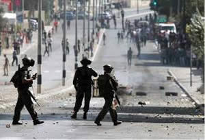 Violent confrontations between Palestinians and Israeli security forces in the northern area of Bethlehem (Wafa.ps, August 22, 2014).
