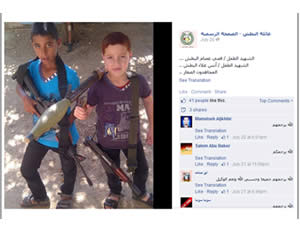 Two children from the al-Batash family, who were killed in Operation Protective Edge. Left: Anas Alaa al-Batash, 10. Right: Qusay Assem al-Batash, 13. The two are called
