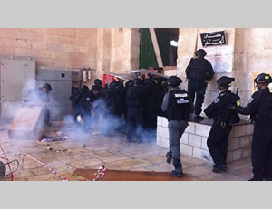 Increase in confrontations on the Temple Mount: Israeli security forces take action against Palestinian rioters
