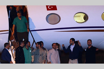 Palestinians terrorists released in the Gilad Shalit prisoner exchange deal land in Turkey (Zaman.com.tr, October 19, 2011)