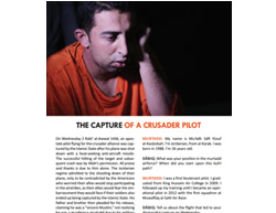 Interview with the Jordanian pilot, which appeared on the first page of the latest issue of Dabiq