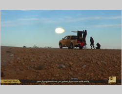 Takeover of an Iraqi Army base near the Iraq-Syria border (http://justpaste.it, January 5, 2015)