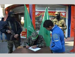 Enrollment sites for Hamas' youth camps (Facebook page of PALINFO, January 17, 2015)