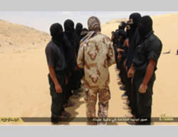 Ansar Bayt al-Maqdis operatives in the Sinai Peninsula, on a website affiliated with ISIS (January 18, 2015)