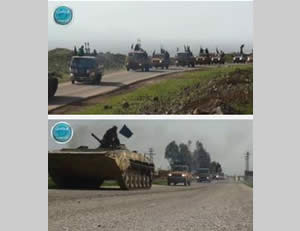 The Al-Nusra Front preparing to curb an attack against it by the Syrian regime forces in southern Syria