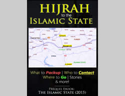 The cover of the guide for those interested in going to fight in the ranks of the Islamic State