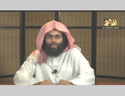 Ibrahim al-Rubaish, AQAP's most senior cleric (YouTube, August 25, 2013)