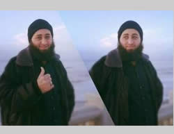 Muhammad Roqa, ISIS operative from the Gaza Strip, killed in Syria (PALDF, June 7, 2015).