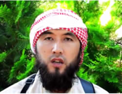 ISIS speaker calling on the residents of Kyrgyzstan to migrate to the Islamic State (archive.org file-sharing website, July 25, 2015)